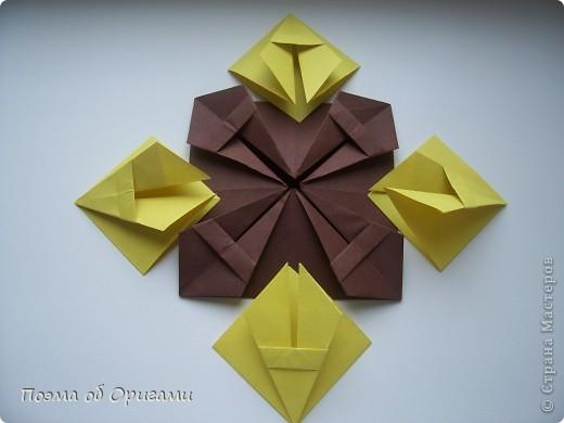 Несмотря на то, что бумага была изобретена в Китае, оригами не получило там такого распространения, как в Японии. В Китае существует совсем небольшой набор сложенных из бумаги изделий, которые можно для этой страны можно считать традиционными. Шанхайская ваза один из таких примеров. фото 25