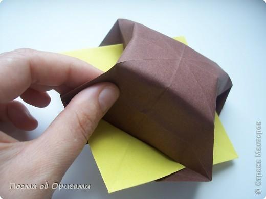 Несмотря на то, что бумага была изобретена в Китае, оригами не получило там такого распространения, как в Японии. В Китае существует совсем небольшой набор сложенных из бумаги изделий, которые можно для этой страны можно считать традиционными. Шанхайская ваза один из таких примеров. фото 31