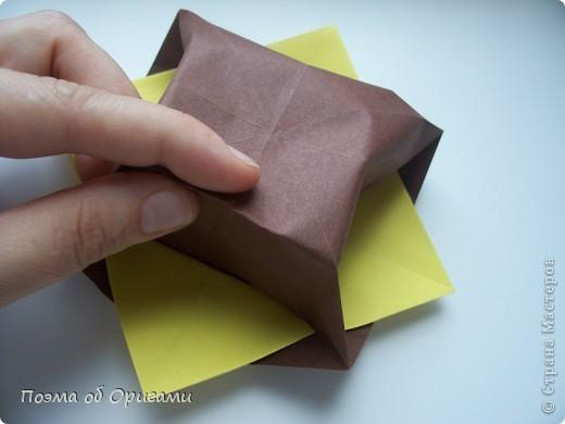 Несмотря на то, что бумага была изобретена в Китае, оригами не получило там такого распространения, как в Японии. В Китае существует совсем небольшой набор сложенных из бумаги изделий, которые можно для этой страны можно считать традиционными. Шанхайская ваза один из таких примеров. фото 32