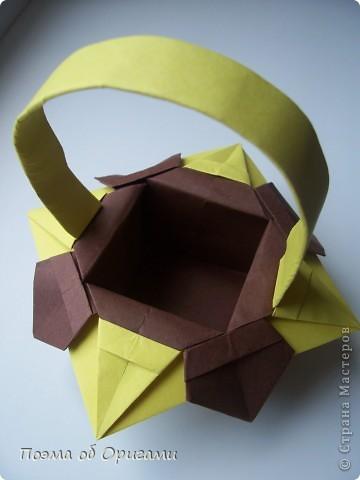 Несмотря на то, что бумага была изобретена в Китае, оригами не получило там такого распространения, как в Японии. В Китае существует совсем небольшой набор сложенных из бумаги изделий, которые можно для этой страны можно считать традиционными. Шанхайская ваза один из таких примеров. фото 34