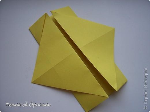 Несмотря на то, что бумага была изобретена в Китае, оригами не получило там такого распространения, как в Японии. В Китае существует совсем небольшой набор сложенных из бумаги изделий, которые можно для этой страны можно считать традиционными. Шанхайская ваза один из таких примеров. фото 39