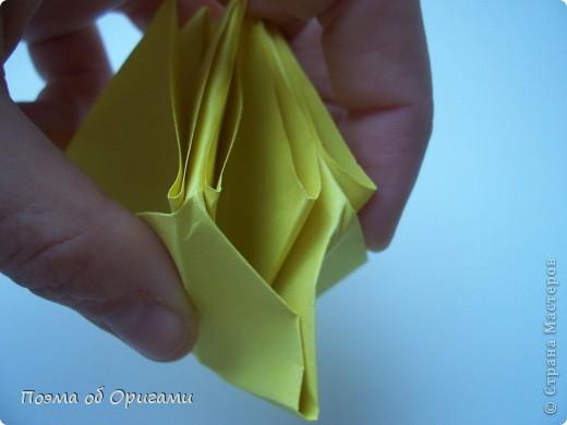 Несмотря на то, что бумага была изобретена в Китае, оригами не получило там такого распространения, как в Японии. В Китае существует совсем небольшой набор сложенных из бумаги изделий, которые можно для этой страны можно считать традиционными. Шанхайская ваза один из таких примеров. фото 46