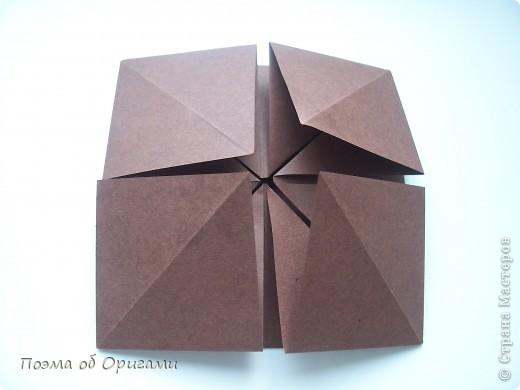 Несмотря на то, что бумага была изобретена в Китае, оригами не получило там такого распространения, как в Японии. В Китае существует совсем небольшой набор сложенных из бумаги изделий, которые можно для этой страны можно считать традиционными. Шанхайская ваза один из таких примеров. фото 9