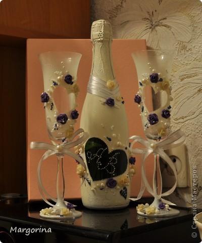 Вдохновленная просмотром МК Олеси Ф. я решила повторить шедевр и сделать подарок на свадьбу своим друзьям. И вот что у меня получилось :)