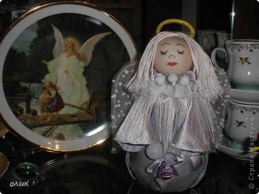 Вот такой Ангелочек у меня получился. фото 2