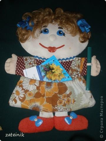 Плоская, мягкая кукла - Маруся! фото 2