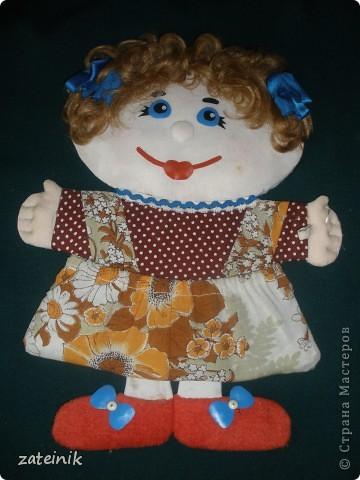 Плоская, мягкая кукла - Маруся! фото 1