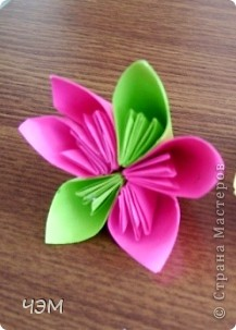 Проба. Кусудама. Модульное оригами. фото 5