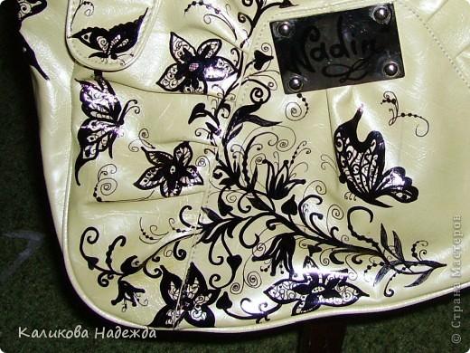 Принесли мне вот такую сумку: вместительную (даже классный журнал помещается - мой любимый размерчик))), цвет летний, с плеча не сваливается. В общем - удобная!... фото 4