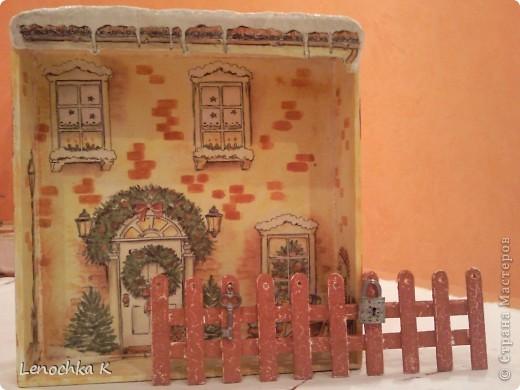 Жила-была  деревянная коробочка из-под конфет....... И вот во что она превратилась... фото 2