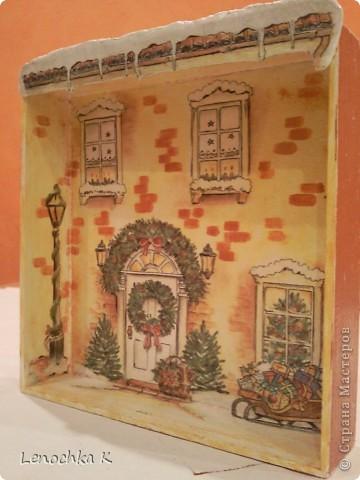 Жила-была  деревянная коробочка из-под конфет....... И вот во что она превратилась... фото 3