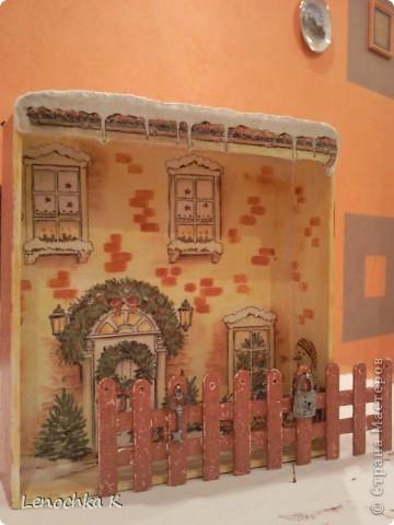 Жила-была  деревянная коробочка из-под конфет....... И вот во что она превратилась... фото 5