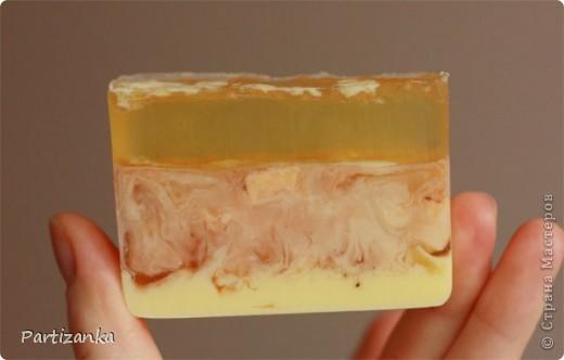 Медово-лимонное мыло фото 3