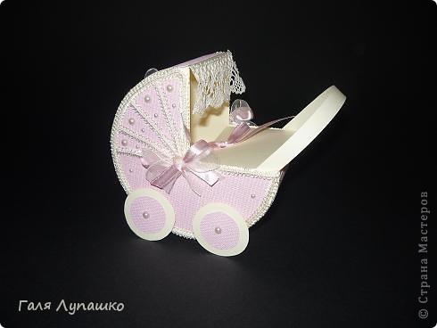 а вот и коляска для девочки фото 1