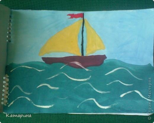 Работы 1 класса школы изобразительного искусства уч.год 2009-2010. Настёна 9 лет. фото 3