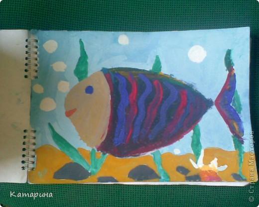Работы 1 класса школы изобразительного искусства уч.год 2009-2010. Настёна 9 лет. фото 4