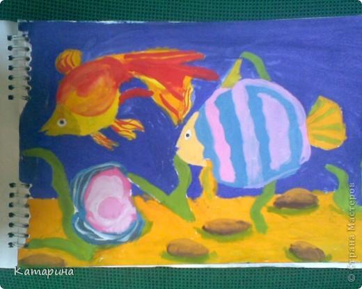 Работы 1 класса школы изобразительного искусства уч.год 2009-2010. Настёна 9 лет. фото 5
