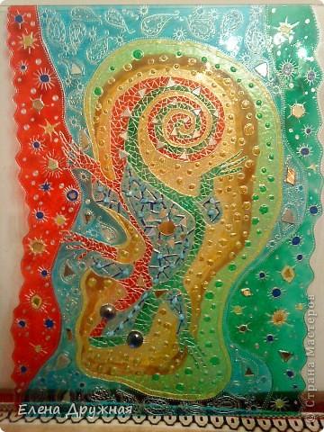 Моя первая работа. Вдохновила работа Натальи Полех.