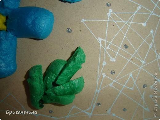 Сегодня я ходила (по работе) на обучение по продукции LEEHO, DONG-A и GREENWICH. Узнала о новых материалах и их свойствах. Из них я сделала это панно-образец. фото 3