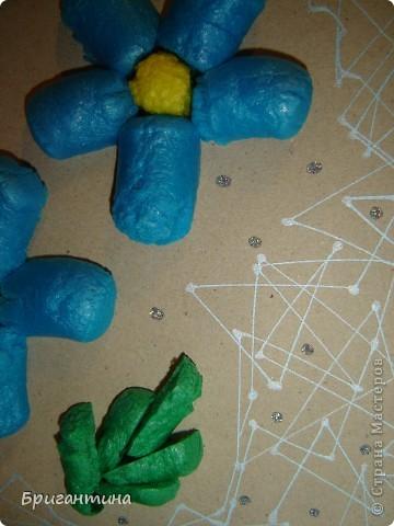 Сегодня я ходила (по работе) на обучение по продукции LEEHO, DONG-A и GREENWICH. Узнала о новых материалах и их свойствах. Из них я сделала это панно-образец. фото 4
