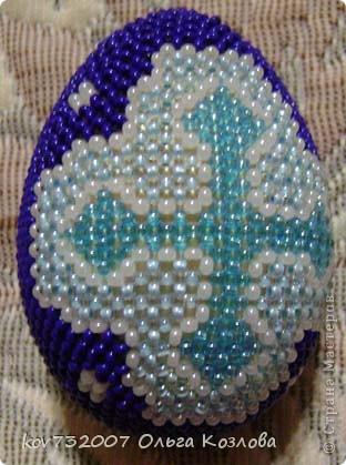 Пасхальные яйца оплетеные