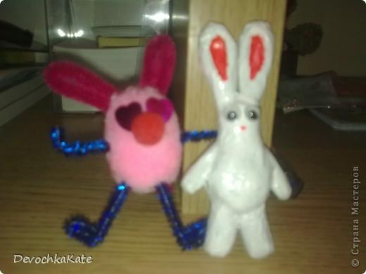Вот такие зайчики получились=) Такие подарки на Новый 2011 год подойдут- ОТЛИЧНО! фото 1