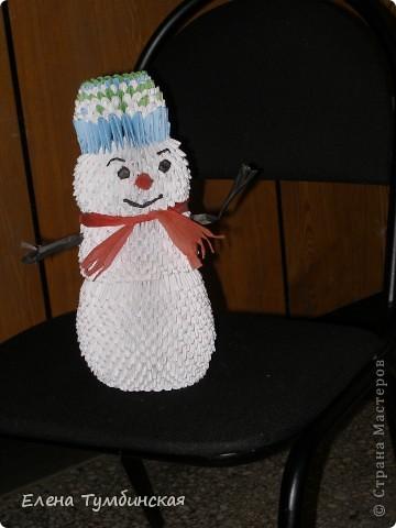 Внук со Снеговиком фото 5
