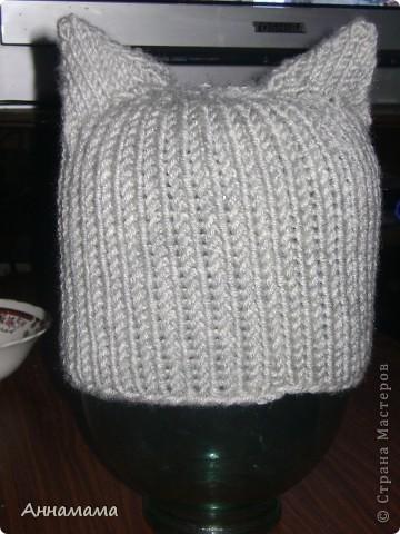 Комплект  шапка,  шарф  15*140 и варежки фото 3