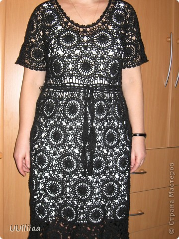 Платье из мотивов