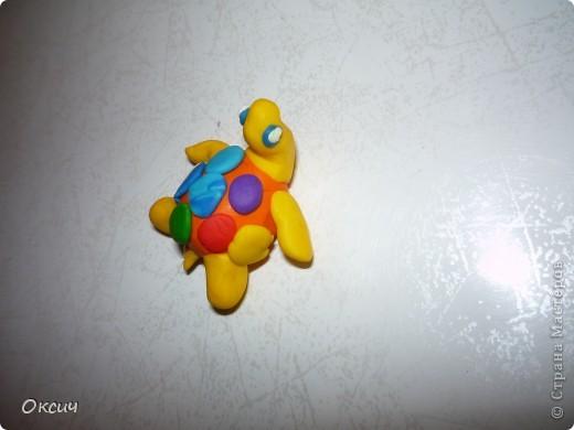 Мои первые магнитики из пластики фото 6