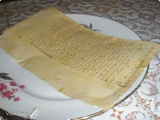 Попытка создания старинной, весьма потрепанной книги с записями на старославянском... фото 6
