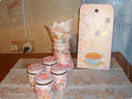 Сделала небольшой комплект для кухни. фото 2