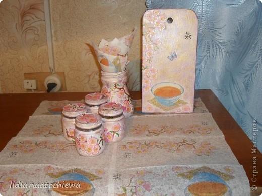 Сделала небольшой комплект для кухни. фото 3