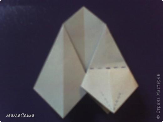 30 модулей без клея. Квадраты 8.5 *8.5, кусудама в диаметре ок.18 см. фото 7