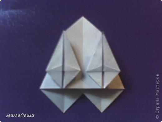 30 модулей без клея. Квадраты 8.5 *8.5, кусудама в диаметре ок.18 см. фото 8