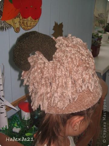 Сценические шляпки курочки Ряба и барашка. фото 4