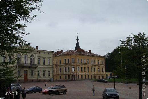 О Выборгском замке я рассказывала в первой части http://stranamasterov.ru/node/105386, а теперь хотелось бы показать Вам  город.  Памятник основателю Выборга Торгильсу Кнутссону. фото 4