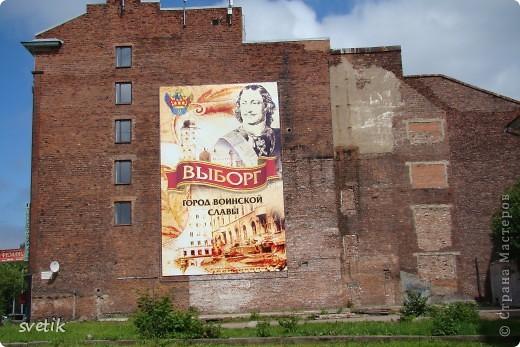 О Выборгском замке я рассказывала в первой части http://stranamasterov.ru/node/105386, а теперь хотелось бы показать Вам  город.  Памятник основателю Выборга Торгильсу Кнутссону. фото 32