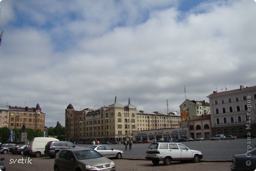 О Выборгском замке я рассказывала в первой части http://stranamasterov.ru/node/105386, а теперь хотелось бы показать Вам  город.  Памятник основателю Выборга Торгильсу Кнутссону. фото 29