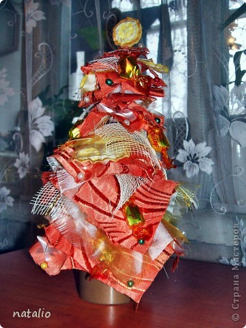 Текстильная елочка фото 3