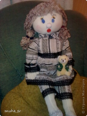 Кукла Настенька.