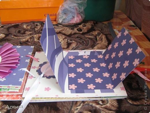 Решила на день рождения племянницы сделать фотоальбом. Уже подарила,она со своей мамой были в восторге))) Чтобы альбомчик не помялся,сделала к нему коробку. Размер альбома 17,5 на 20, 7 разворотов, 8 листов,основа картон. фото 20