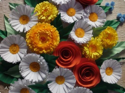 """За образец взята работа Евгении """"Вазочка с цветами."""" фото 2"""