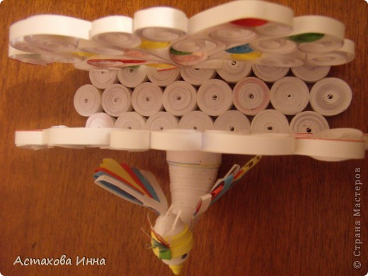 Очень понравилась салфетница в исполнении runa-245 http://stranamasterov.ru/node/66828, загорелась сделать и себе чего-нибудь такого. Вот что получилось.  Это №1 вид с одной стороны. фото 5