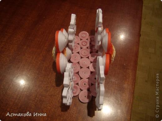Очень понравилась салфетница в исполнении runa-245 http://stranamasterov.ru/node/66828, загорелась сделать и себе чего-нибудь такого. Вот что получилось.  Это №1 вид с одной стороны. фото 12