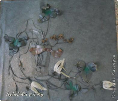 Этими работами оформлены фойе нашей школы, этой техникой мы с ребятами занимаемся на студии.  фото 4