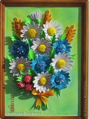 Вот и у меня появился букет полевых цветов.  фото 1