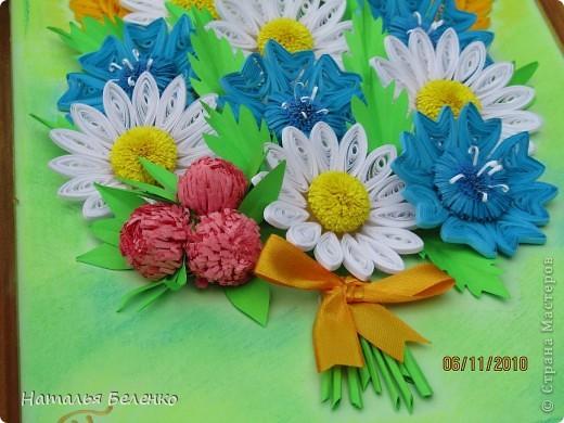 Вот и у меня появился букет полевых цветов.  фото 6