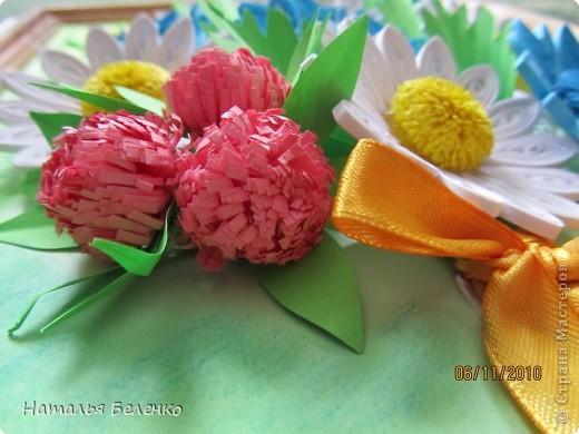 Вот и у меня появился букет полевых цветов.  фото 7