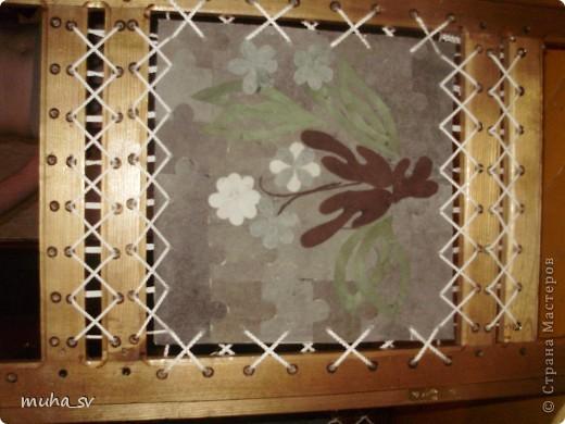 Ширма своими руками. Изготовленная из древесины (отходы ) и декорированная остатками кожи. фото 15